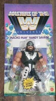 $33.99 • Buy WWE MASTERS OF THE UNIVERSE Unpunched Card. Wave 5 Series Macho Man MOTU