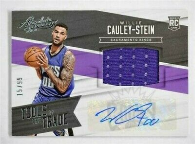 AU19.96 • Buy 2015-16 Absolute Tools Of The Trade Rookie 8 Willie Cauley-Stein Auto Jersey /99