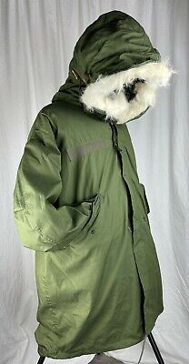 $329.99 • Buy US Military M-65 OD Fishtail Cold Weather Parka W/Liner&Hood Large 8415007823219