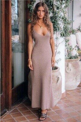AU99.84 • Buy 💕Spell And The Gypsy Petra Metallic Knit Slip  XL