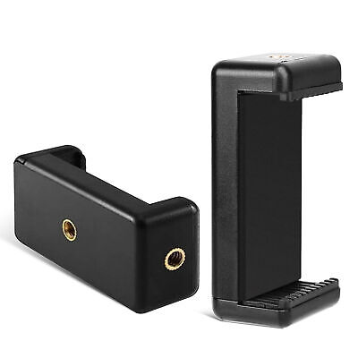 AU9.99 • Buy Phone Adapter Mount Clip Holder Stand Universal For IPhone Tripod Camera