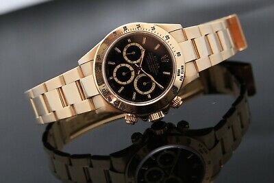 $ CDN84432.50 • Buy Rolex Zenith Daytona Yellow Gold - Box & Papers 1993