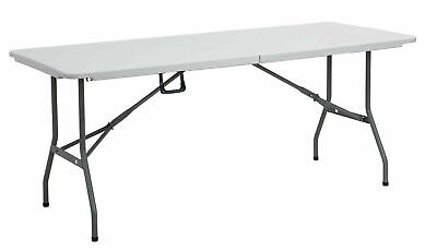 Heavy Duty Folding Table 6 FT Camping Picnic Banquet Party Garden Tables 6ft • 1.20£