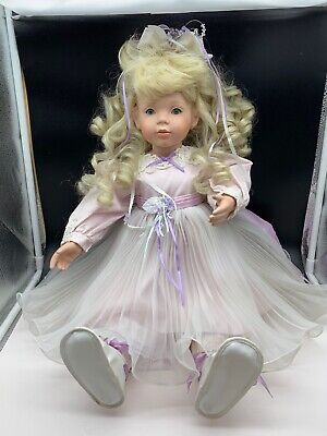 £107.94 • Buy Donna Rubert Porcelain Doll 65 Cm. Top Condition