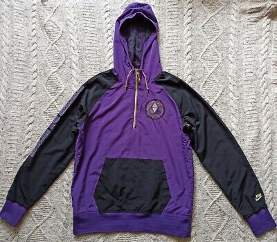 Nike Efficiens Non Decorus Mens Hooded Half Zip Track Top - Size M - Excellent • 14.99£