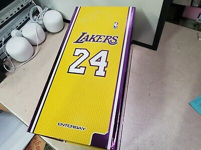 $375 • Buy Enterbay NBA Collection Kobe Bryant 1:6 Real Masterpiece Action Figure 2-Pack