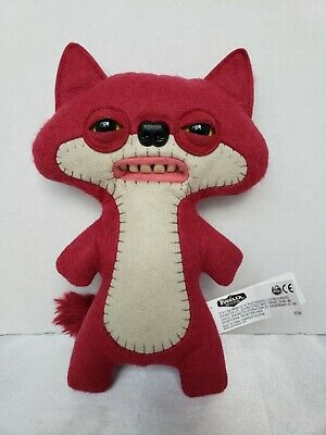 $ CDN25.36 • Buy Fuggler Red Suspicious Fox 9  Funny Ugly Monster Teeth Felt Stuffed Spin Master
