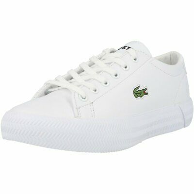 Lacoste Gripshot 0120 3 White Leather Adult Trainers Shoes • 67.36£
