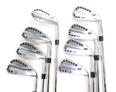 AU1100.72 • Buy PXG 0311 Chrome 3-9, PW Iron Set RH S Pro Modus 3 Steel Shaft Stiff Flex
