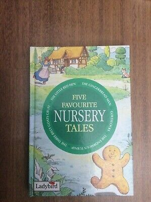 Five Favourite Nursery Tales By Ladybird  • 3£