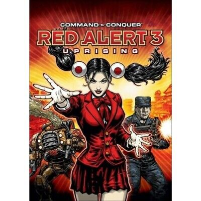 AU9.95 • Buy Command & Conquer: Red Alert 3 Uprising Origin Key Digital Download - PC Game