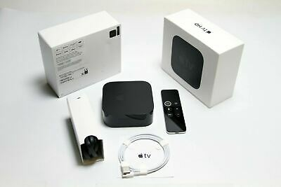 AU153.84 • Buy Apple TV (4th Generation) 32GB HD Media Streamer - Black (MR912LL/A)