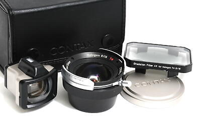 $ CDN2303.47 • Buy Carl Zeiss Hologon 8/16 T* Lens For Contax G Mount Boxed W. Finder