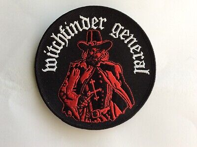 £4.50 • Buy Witchfinder General Embroidered Patch