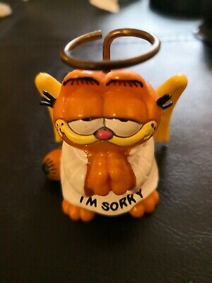 Vintage Garfield  I'm Sorry  Figure By Bully 1978-1981  • 4.99£