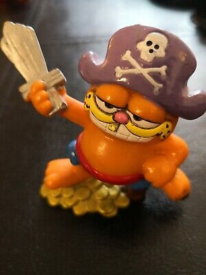 Vintage Garfield  Pirate   Figure By Bully 1978-1981  • 4.99£