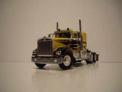 $ CDN83.54 • Buy Dcp First Gear 1/64 Yellow With Black Graphics Kenworth W900a With 36  Sleeper