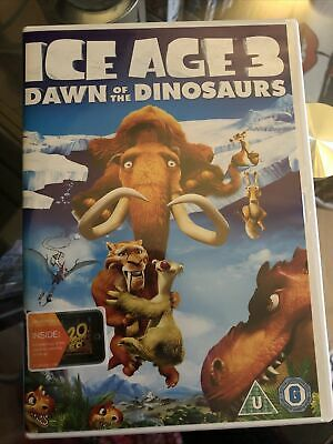 Ice Age 3 - Dawn Of The Dinosaurs (DVD, 2009) • 0.85£