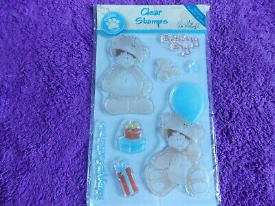 Docrafts  TEDDY BEAR  Clear Stamps • 3.95£