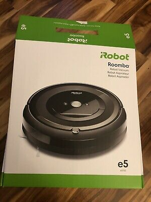 Opened  IRobot Roomba E5 Wi-Fi Connected Robot Vacuum - Black NEW USED ONCE! • 89.41£