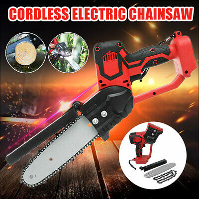 UK Red Cordless Electric Chainsaw Woodworking Cutting Tool For Makita Battery • 45.69£