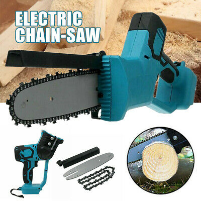 UK Electric Cordless Chainsaw Chain Saw Garden Cutting Tool For Makita Battery • 44.49£
