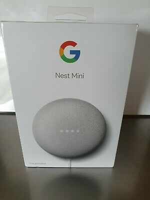 AU33 • Buy Google Nest Mini (2nd Generation) Smart Speaker - Chalk,New In Box.