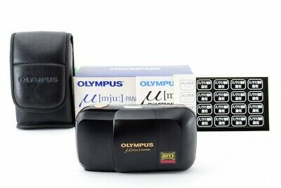 New Old Stock Olympus Mju Panorama Point & Shoot 35mm Film Camera From Japan • 216.35£