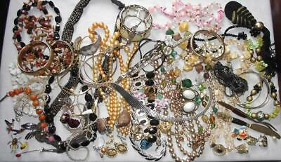$ CDN50 • Buy HUGE Vintage (some Newer) Jewelry Lot. Sterling 925, Signed Pcs, Enamel, +. #365