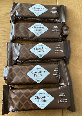 £13 • Buy 10 Exante Meal Replacement Chocolate Fudge Bars