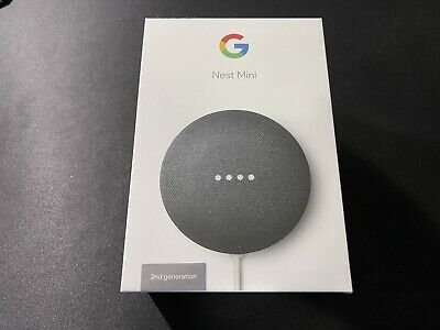 AU20 • Buy Google Nest Mini (2nd Generation) Smart Speaker - Charcoal