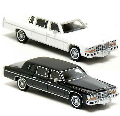 £28.16 • Buy BoS Best Of Show Cadillac Fleetwood Formal Stretch Limousine 1980 USA 1:87 H0