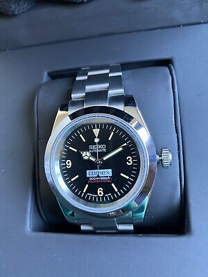$ CDN222.25 • Buy Vintage Explorer Seiko Comex Modified Automatic Watch NH35 Milsub Submariner