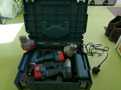 Makita Cordless Hammer Drill & Cordless Screw Driver Set , In Carry Case • 36£