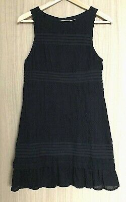 AU27.99 • Buy BRAND NEW URBAN OUTFITTERS Kimchi Blue Mesh Insert Little Black Dress Size S