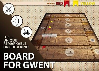 $ CDN40.57 • Buy Gwent Card Game Board The Witcher 3 Wild Hund Brand Cloth Surface Gameboard Mat