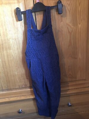 Mini Boden Navy Blue Dungarees Age 3-4 Years • 3.50£