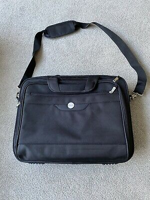 Genuine DELL 17  Professional PADDED Briefcase Notebook Laptop Case BAG BLACK • 15£