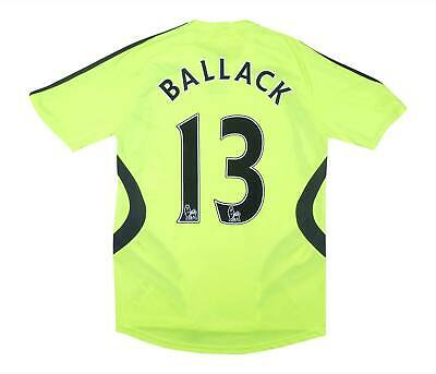 Chelsea 2007-08 Authentic Away Shirt Ballack #13 (Excellent) S Soccer Jersey • 59.99£
