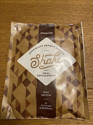 £11 • Buy Exante Chocolate Peanut Butter Shakes X 10