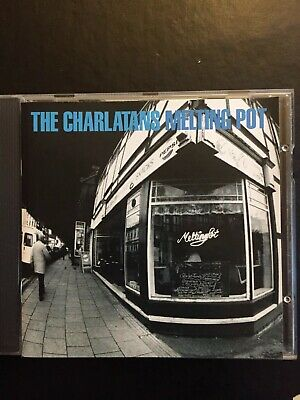 Charlatans Melting Pot Used 17 Track Greatest Hits Cd Indie Pop Rock 90s 00s • 2.50£