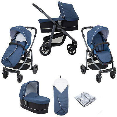Graco Evo Avant Pushchair Stroller Travel System- Ink • 267.99£
