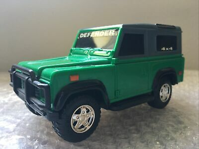 Land Rover Defender 90 Green Pull-String Toy - Lanard Toys - 1/32? Scale  Used • 7.15£