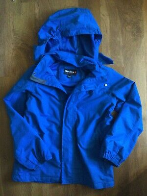 Boys Blue Waterproof Rain Jacket, Peter Storm, 11-12 Years, Great Condition • 2.99£