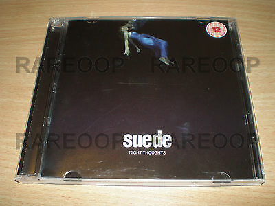 Night Thoughts [Deluxe Edition] By Suede (CD, DVD, 2016, Warner) ARGENTINA PROMO • 23.26£