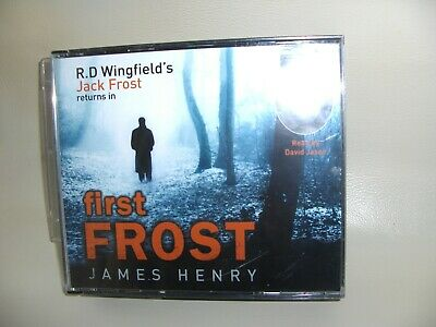 AUDIO BOOK 3 CDs FIRST FROST By R.D. WINGFIELD • 0.99£
