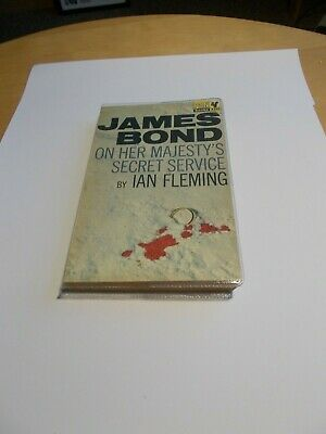 Ian Fleming - On Her Majestys Secret Service / Rare UK 1st Printing / Pan 1964 • 1,350£
