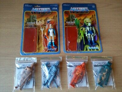 $1.38 • Buy Super 7 Reaction Masters Of The Universe Stage1 Prototypes Sorceress + Scareglow