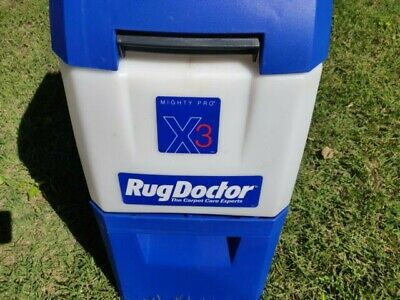 Rug Doctor Mighty Pro X3 Carpet Cleaner - Used But In Good Condition.  • 350£