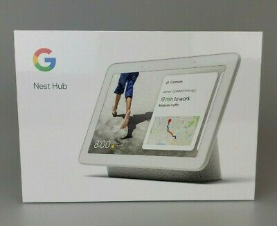 AU1.61 • Buy Google Nest Hub With Built-In Google Assistant, Chalk (GA00516-US)